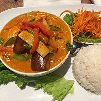shrimp red curry