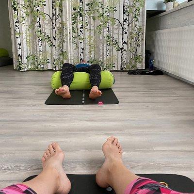 Walimo offers pilates and yoga classes (astanga-, flow-, yin- and aerial yoga)
