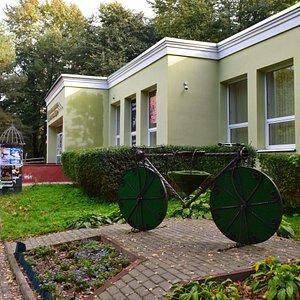 Информационно-туристический центр Светлогорска. Вид с улицы К.Маркса