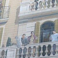 Mural Balcones de Barcelona