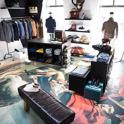 Anders als andere Shops ... der Conceptstore for Men, Newman & Paul in St.Gallen