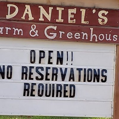 They are Open!!1 No Reservations Required.