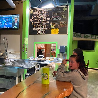 Inside Bacova Brewery
