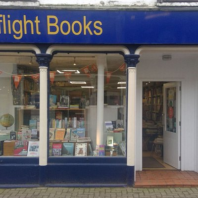 Highflight bookshop on the High Street in Dingwall; general secondhand and antiquarian books, not limited to but specialising in aviation, railway and Scottish history.