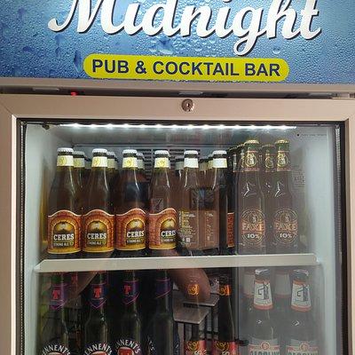Grande selezione di birre , fredde e pronte da gustare