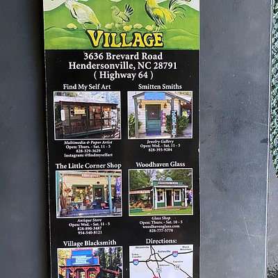 Brochure from Horse Shoe Gap Village