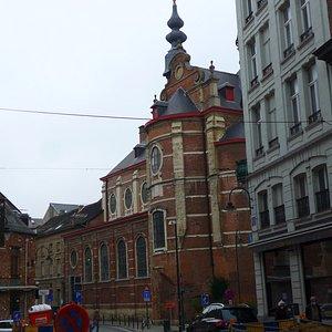 Brussels, Eglise Notre-Dame aux Riches Claires