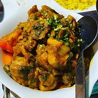 Curry and sides.