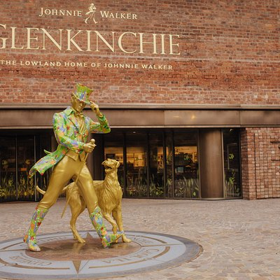 Entrance to Glenkinchie, the Lowland Home of Johnnie Walker.