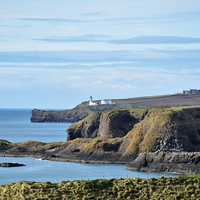 View from Folwsheugh, south of Stonehaven