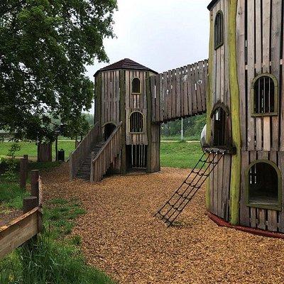 Detské ihrisko Spielplatz Im Schlobigpark