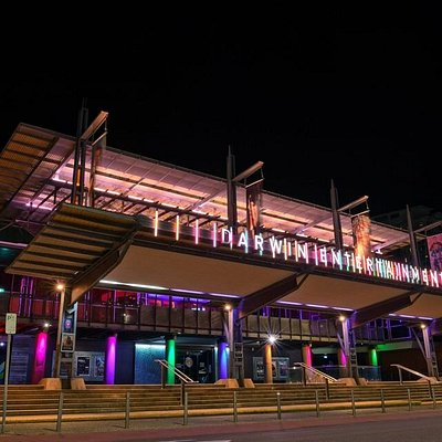 Exterior of the Darwin Entertainment Centre