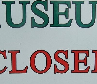 The Museum is Closed until Easter 2021