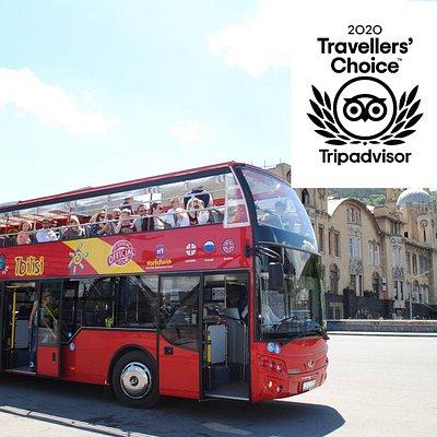 City tour Tbilisi Georgia - Экскурсия на двухэтажном красном автобусе.