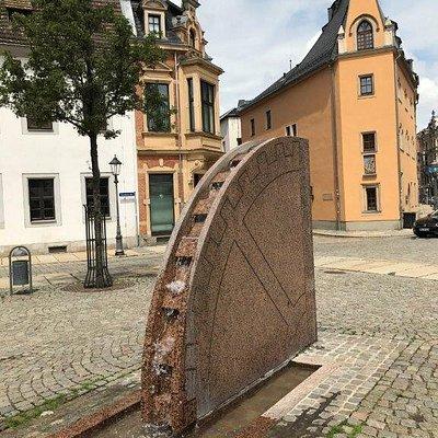 Vodná fontána Der Brunnen der Kornmüller