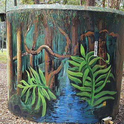 Welcome to Springbrook Watertank Art & Winburn Lookout