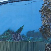 Ferny Hill Water Tower Mural
