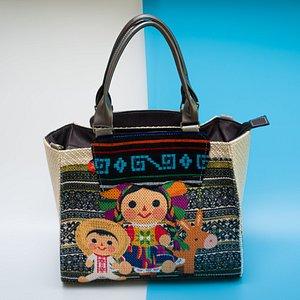 Bolsas con diseños mexicanos
