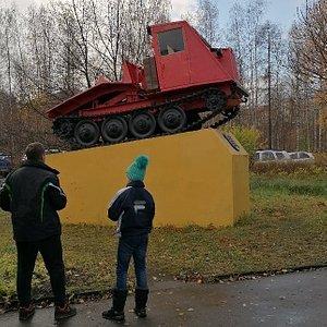Памятник Трактор ТДТ-40