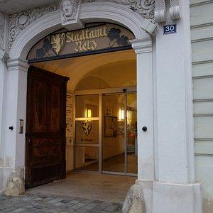 Tourist Information im Rathaus Retz