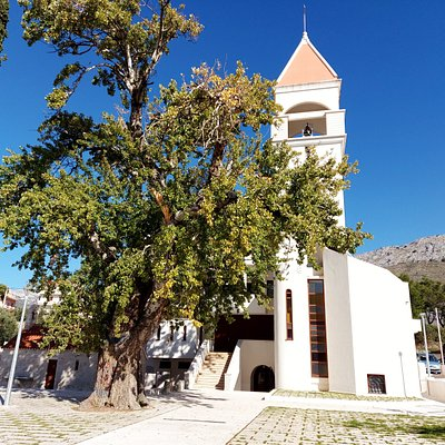 Strozanac church of Gospe u Siti