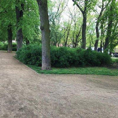 Mestský park s detským ihriskom Rosenwiese