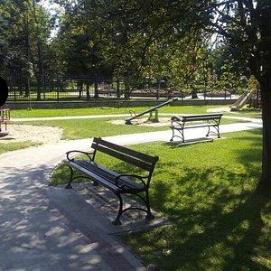 Detské ihrisko Plac Zabaw v parku