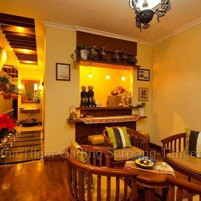 Beautiful Jamu Bar at Martha Tilaar Salon Day Spa Gading Serpong.