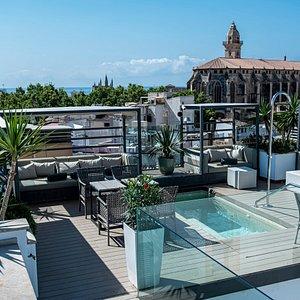 Palma suites roof terrace