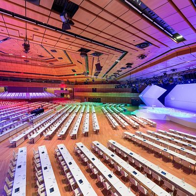 Hall ABC, convention (c) IAKW-AG, Ludwig Schedl