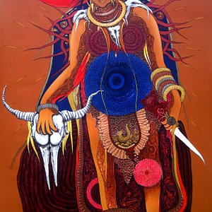 arjun singh ,banarash artist
