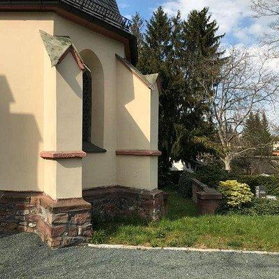 Menší cintorín Friedhof Zwickau Weißenborn
