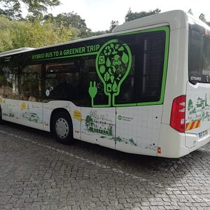 BUS 434 IN PENA PALACE