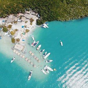 Isla Cholon, Islas del Rosario (Cartagena - Colombia)