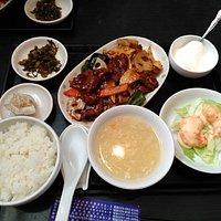 今天飯定食\880(外税)