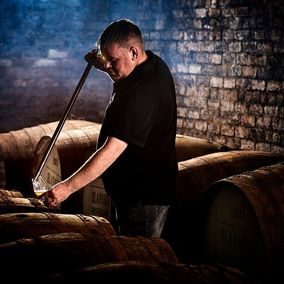 All casks are carefully selected before bottling