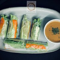 Saigon Kava Vegan Fresh Rolls - What makes Saigon Kava's fresh rolls so special?...the answer is our secret home-made peanut sauce 🥜!