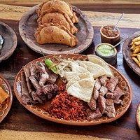 Comida gourmet estilo argentino