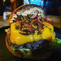 burger chimichurri