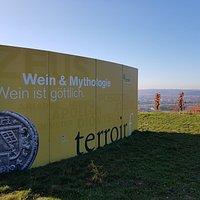 Der Terroir f Punkt in Thüngersheim.