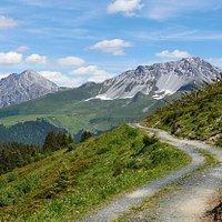 Planetenweg à Arosa (canton des Grisons)
