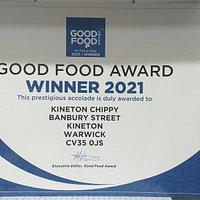 Kineton chippy cooks to quality