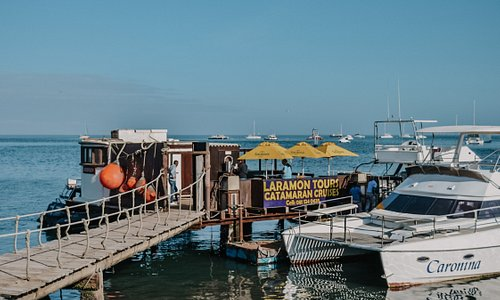 Laramon Tours private jetty