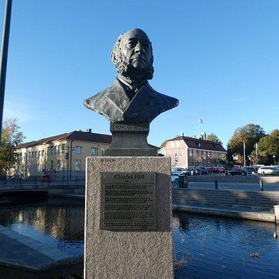 ''Statybysten'' Charles Hill i Alingsås
