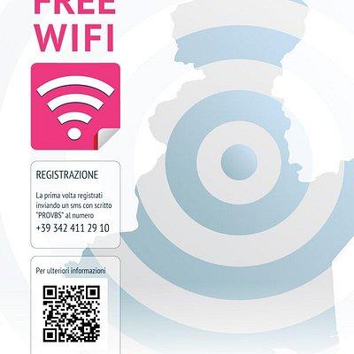 Connettiti al WI-FI gratuito