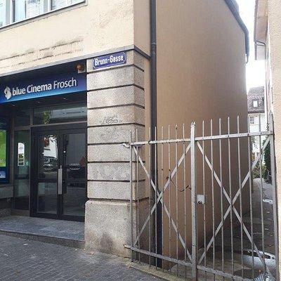 blue Cinema Frosch Studio
