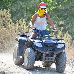 Side: Quad ATV Safari Adventure