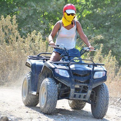 Side: Quad ATV Safari Adventure