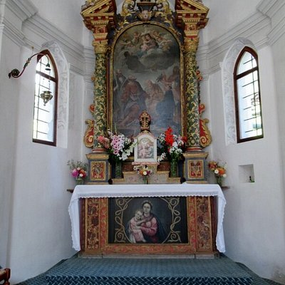 L'altare nell'abside