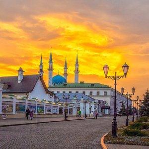 Казанский Кремль и мечеть Кул-Шариф на его территории